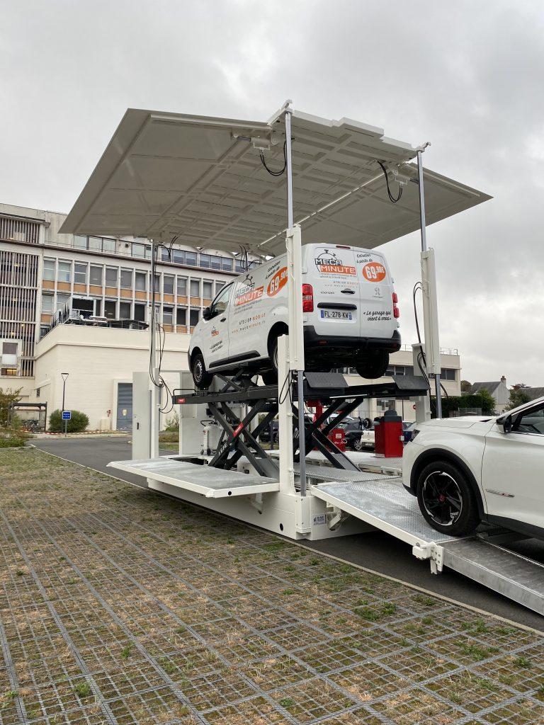 Garage mobile Mécaminute